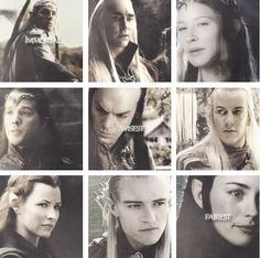 Elves of Middle Earth...