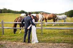 Romantic Wedding at The Wedding Barn at Lakota's Farm | Cambridge, NY