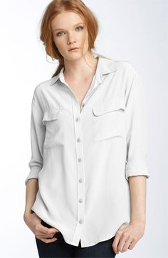 Free shipping and returns on Equipment 'Signature' Silk Shirt at Nordstrom.com. Sumptuous washed silk styles a chic, menswear-inspired shirt with an eased fit and longer length.