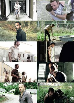 -you don't get to come back… from the things that you've done -we're not too far gone, we can all change Rick Grimes