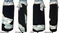 Kurotomesode long skirt