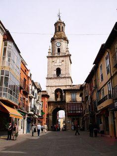 Puerta del Mercado y Torre del Reloj, Toro, Zamora, Castilla y León, España