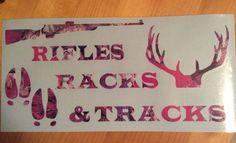 Outdoor Deer Hunting Vinyl Decal by BarkIt on Etsy https://www.etsy.com/listing/236986235/outdoor-deer-hunting-vinyl-decal