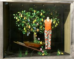 Breakfast at anthropologie: earth day anthropologie windows shops, store wi Winter Window Display, Window Display Design, Shop Window Displays, Store Displays, Shop Front Design, Store Design, Anthropologie Display, Store Windows, Animation