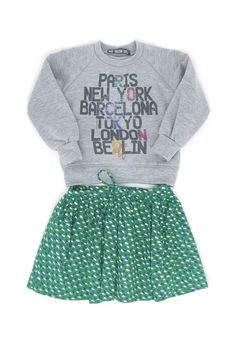 baby version rock sweat  maan skirt