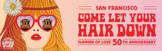 Throughout 2017, San Francisco will revel in an exhilarating celebration of the most iconic cultural event in its history: the Summer of Love.