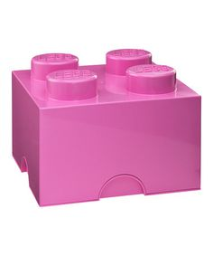 Medium Pink LEGO 2 x 2 Storage Brick by LEGO. Love this! Now it only there was a vacuum to go with it!