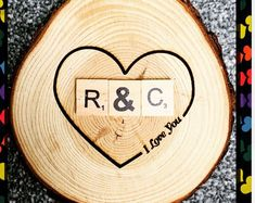 DescriptionLaser Engraved Natural Log CircleFuyit WoodCan be hung on wall or used as a coasterLaser engraved with your text..They can be fantastic for laser engraved wall decor Please visit our etsy shop for more designs #laserengraved,#personalisedgifts,#thanksgiving Scrabble Frame, Wooden Scrabble Tiles, Scrabble Art, Personalised Family Tree, Personalized Gifts, Laser Engraved Gifts, Family Tree Frame, Handmade Christmas Gifts, Thanksgiving Gifts