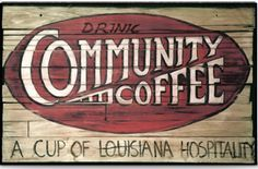 Community Coffee is a coffee roaster and distributor based in Baton Rouge, Louisiana #c'est bon