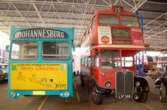 Enjoy a visit to Johannesburg's James Hall Museum of Transport, the largest transport museum in South Africa.