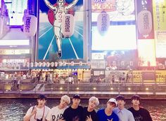 [#MONSTA_X] #MonstaX in #OSAKA With short free time in Japan, a bit will be revealed of the members having fun 😘 #MonstaXAre_Now #Osaka  translated by fymonsta-x ϟ