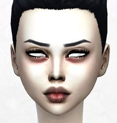 Pale vampire skintone V1 at DecayClown's Sims via Sims 4 Updates