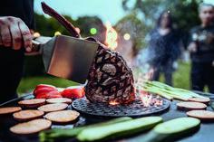 Gardenplaza: Grillen im Garten – Genuss 2.0 (Foto: epr/MOESTA-BBQ) Barbecue, Wood Stone, Crickets, Barrel Smoker, Bbq, Barbacoa