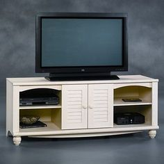 "63"" Modern TV Stand Entertainment Media Center Console Storage White Furniture - BUY NOW ONLY 270.95"