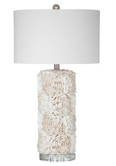 Table lamp with rosette details ==