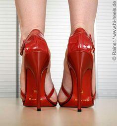 Red High Heels, High Heels Stilettos, High Heel Boots, Stiletto Heels, Sexy Legs And Heels, Hot Heels, Dress And Heels, Beautiful High Heels, Stockings Heels