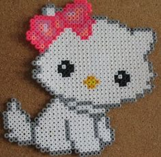 perler bead Hello Kitty