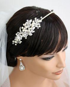 Bridal Headband Rhinestone Hairpiece