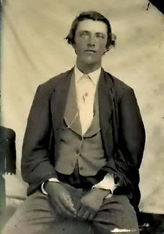 Destined for Infamy Dossier William Henry McCarty, Jr. AKA: Billy the Kid or El Chivito (Billy goat/Kid goat) Aliases: Wm Henry Antrim / Kid Antrim William H. Bonney / Billy the Kid William Harriso… Billy Kid, Billy The Kids, Gangsters, Wild West, Old West Outlaws, Old West Photos, Into The West, The Lone Ranger, Cowboys And Indians
