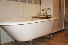 Claw Foot Tub - worth the 33 year wait!