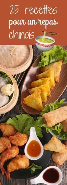 Raviolis, nems, rouleaux de printemps : 25 recettes pour un repas chinois ! Antipasto, Ravioli, Asian Recipes, Healthy Recipes, Salty Foods, Exotic Food, Asian Cooking, No Cook Meals, Food Inspiration