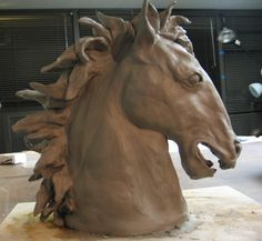 Horse Sculpture (In Progress) by RDPJCakes, via Flickr