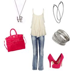 Pink Passion ♥ Love the style.. Would be better in RED!! or...BLACK!!
