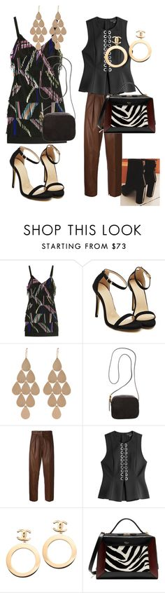 """Sem título #2551"" by mariana-mester-vianna ❤ liked on Polyvore featuring Preen, Irene Neuwirth, The Row, Federica Tosi, Alexander Wang, Chanel and Mulberry"