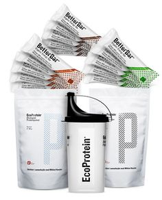 Organic protein powder & organic raw food energy bars from EcoProtein.com