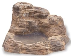 Artificial Rock Ponds, Waterfalls, Cascades Indoor Outdoor Water Features Vic Hannan Landscape Materials