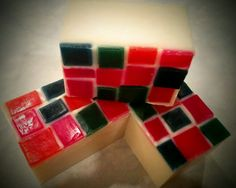 Stained Glass soap by CLA Designs Soap Images, Stained Glass, Cube, Design, Stained Glass Panels, Leaded Glass, Fused Glass
