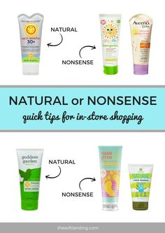 With all the sunscreen options out there claiming to be 100% natural, it can be hard to wade through the sea of ingredients to find a really safe product for your family. In this guide, we'll get down to the basics and spell out the differences between chemical and physical sunscreen, what the active ingredients are, and which brands are actually natural and which are nonsense.