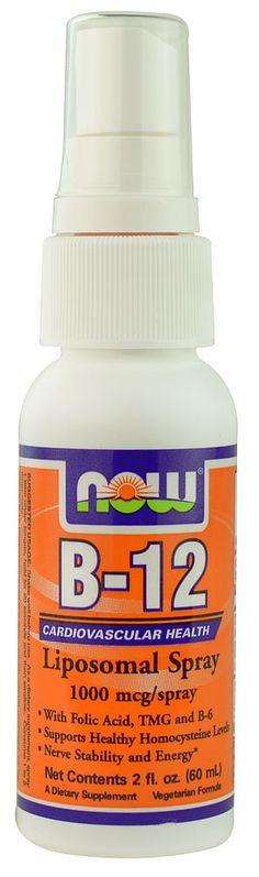 NOW Foods B12 Liposomal Spray