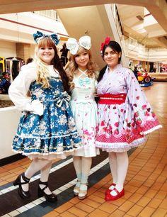 Cute lolita dresses.