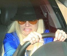 Hit the car again #celebrityfunny #funnycelebrities