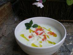 Blog de cuina de la dolorss: Sopa de pepino y yogur