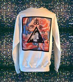 Manson Loves Lohan Pastel Goth Sigil Sweathshirt