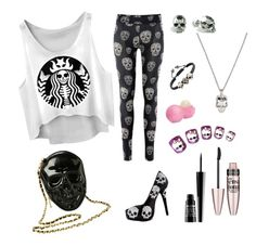 """""""Day of the dead?"""" by wolfgirl012 ❤ liked on Polyvore"""