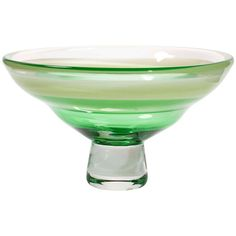 Large Modern Glass Bowl by Floris Meydam, Leerdam Unica, 1977 | From a unique collection of antique and modern bowls at http://www.1stdibs.com/furniture/dining-entertaining/bowls/