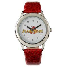 Flame Gurl Logo Wrist Watches