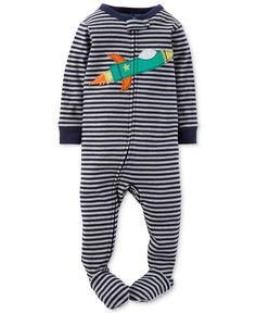 29b9dd7b0e Carter s Baby Boys  Rocket Ship Coverall - Kids Baby Boy (0-24 months