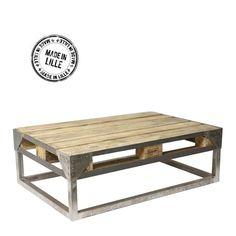 Palette europe 37 id es pour en fabriquer des meubles - Acheter table basse palette ...