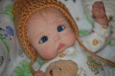 Ooak Polymer Clay Baby Dina Sculpted by Tatyana