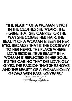 The beauty of a woman.. ❥ (Although, I believe all love is carried through the eyes, but that is just a matter of spirit)