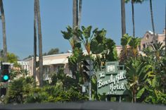 Beverly Hills Hotel exit