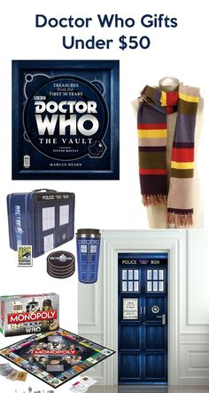 Doctor Who Gifts Under $50