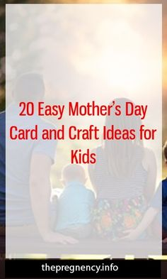 20 Easy Mother's Day Card and Craft Ideas for Kids #childbirth   #maternitydress  #kidstraining Pregnancy Health, Pregnancy Care, Pregnancy Problems, Pregnancy Workout, Pregnancy Facts, Pregnancy Goals, Friend Pregnancy, Pregnancy Insomnia, Third Pregnancy