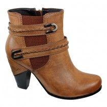 Redz - 91732 - Ankle Boot - Tan