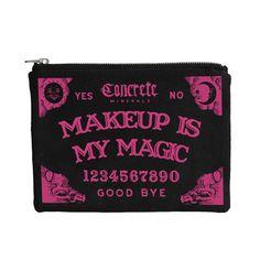 Concrete Minerals · Ouija Makeup Bag