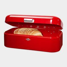 Wesco Grandy Bread Box A useful container, shiny and pretty.